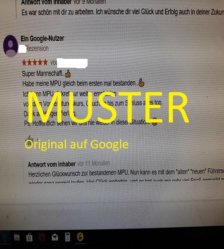 5 Sterne auf Google von Sergej