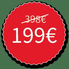199 Euro statt 389 Euro